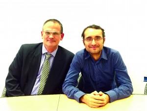 Evangelos Papadopoulos and Dr. Krassimir Kostadinov
